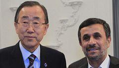 Írán hostí mezinárodní summit. Přijel i tajemník OSN, Izrael zuří