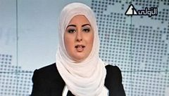 Moderátorka v šátku je vítězství svobody, radují se Egypťané