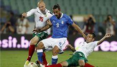 Favorité 'české' skupiny ztratili. Itálie remizovala s Bulharskem