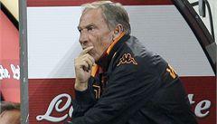 Trenér Zeman u AS Řím skončil. Tým neměl výsledky