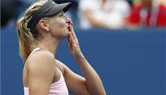 Erraniová a Šarapovová uspěly ve čtvrtfinále US Open