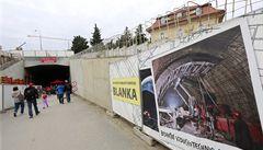 Policie šetří tunel Blanka. Mluví o miliardové škodě