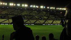 Zápas Realu byl odložen. Vandalové poškodili světla