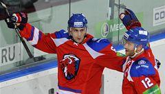 Lev vyhrál v KHL posedmé díky hattricku Christensena