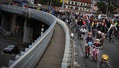 Praha by měla být k cyklistům přívětivější, tvrdí pořadatelé jarní cyklojízdy