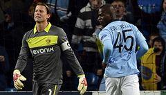 Rozjetý Dortmund zmrazil penaltou v závěru Balotelli