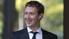 Zuckerberg daroval půl miliardy dolarů. Na zdravotnictví a školství
