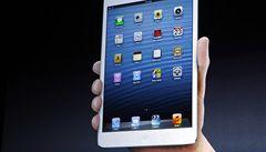 Apple představil iPad Mini, menší a levnější verzi svého tabletu