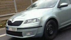 Nová maskovaná Škoda Octavia. Podívejte se