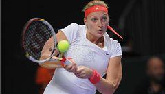 Kvitová si postup zkomplikovala, na úvod turnaje prohrála
