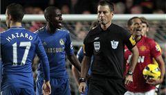 Chelsea zuří po prohraném utkání s United, kvůli rozhodčím