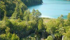 Výhled na Plitvická jezera vám překazí Češi
