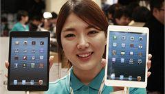 Apple v Číně drtí levnější konkurence. Na trhu s tablety propadl o 40%
