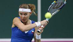 Češky zvládly ve Španělsku čtyřhru a jsou v semifinále Fed Cupu