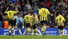 Dortmund bodoval v Madridu. Porto a Málaga postupují