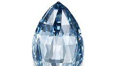 Vzácný modrý diamant vydražili v Ženevě za 217 milionů