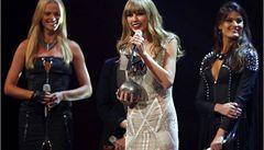 Evropské hudební ceny MTV získali Swiftová a Bieber