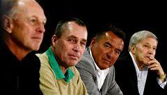 Tenisové legendy na autogramiádě v Praze