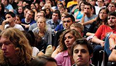 Studentské debaty lákají stovky diváků