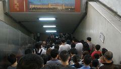 Pekingské metro aneb cpi se, co to jde