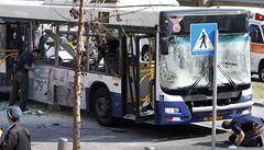 U izraelského ministerstva obrany explodoval autobus, 21 zraněných