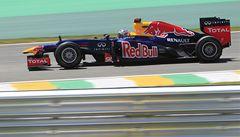 Vettel byl v trénincích v Brazílii druhý, Alonso pátý