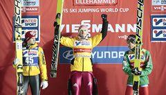 První závod českým skokanům nevyšel, Hlava byl čtrnáctý