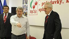 Zeman není levicový kandidát, zní z ČSSD. Přesto ho podpořila