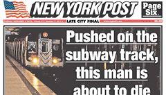 Američané řeší snímek tragédie v metru: proč mu fotograf nepomohl?