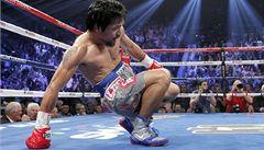Slavný Pacquiao soupeři zlomil nos, přesto byl knokautován