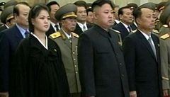 Pchjongjang očekává dědice. První dáma KLDR je těhotná