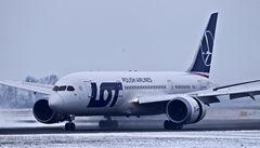 Dreamlinery musí na inspekci. Nejvyspělejší letoun trápí poruchy