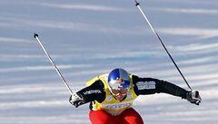 Skikrosař Kraus v osmifinále upadl, ale nezranil se