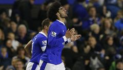 Fellaini udeřil hlavou soupeře. Kouč Evertonu svou hvězdu odsoudil
