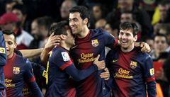 Barcelona porazila Atlético. Messi se trefil dvakrát, Falcao jednou