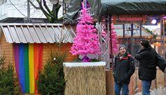 Veselé růžové. Němci lákají homosexuály na vánoční trhy