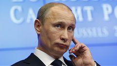 Putin chce přispět na pomoc Kypru. Rusové tam odklánějí miliardy