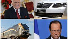 """Byznys 2012: socialista ve Francii, """"zrůdný"""" euroval a černé vlaky"""