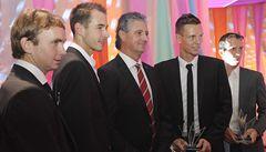 Daviscupový tým získal za salátovou mísu Zlatého kanára