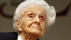 V Itálii zemřela nejstarší nositelka Nobelovy ceny