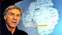 Britský cestovatel se vydal na zimní přechod Antarktidy