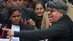 Otec znásilněné Indky prozradil její jméno. Útočníci se brání trestu