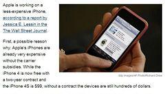 Apple vyvíjí iPhone pro chudé. Ubere na kvalitě a hlavně na ceně