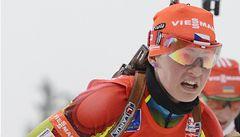 Druhá biatlonistka Vítková slaví životní úspěch, Moravec byl třetí