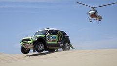 Loprais ve druhé etapě Rallye Dakar prohrál jen s De Rooyem