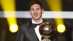 Messi pokořil další rekord. Počtvrté vyhrál Zlatý míč