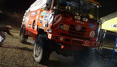 Kolomý byl na Dakaru pátý, Loprais hned za ním