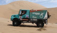 Loprais byl v předposlední etapě Dakaru třetí, Kolomý znovu klesl