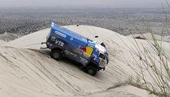Loprais klesl na Dakaru po další etapě na čtvrtou příčku, čelo beze změn