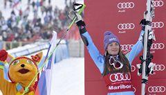 Mazeová s předstihem vyhrála Křišťálový glóbus za obří slalom